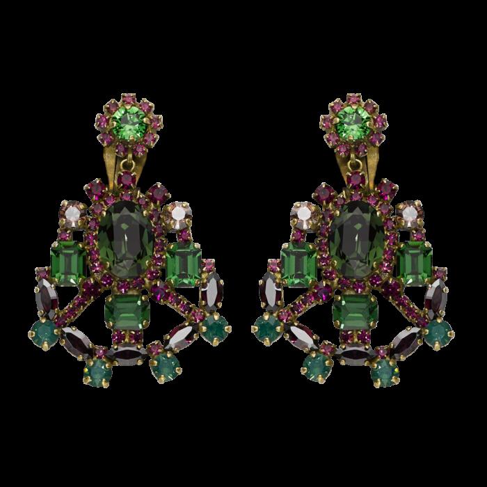 Dolce Swarovski Crystals Amethyst